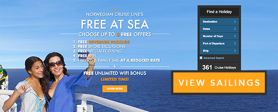 Free at Sea Offers